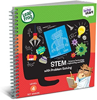 LeapFrog 21613 LeapStart Year 1 StemTEM Science/Technology/Engineering and Maths and Problem Solving Activity Book