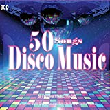 3 CD 50 Éxitos Disco de los 70, Gloria Gaynor, Donna Summer, Gibson Brothers. Grandes éxitos como I Will Survive, Celebration, We Are Family …