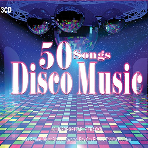 3 CD 50 Hits Disco anni '70, Gloria Gaynor, Donna Summer, Gibson Brothers. Grandi successi come I Will Survive, Celebration, We Are Family ...
