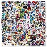 100 / set Etiquetas engomadas de graffiti de anime para la...