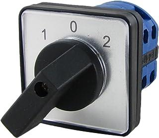Sourcingmap a11102400ux0275 - Rotatorio selector de 3 posiciones de interruptor de cambio ui 440v con 20a