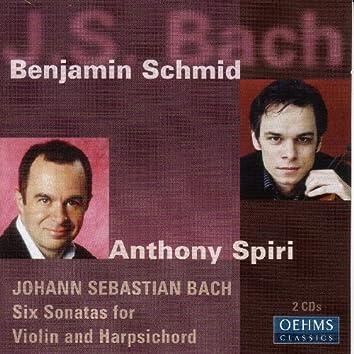 Bach, J. S.: 6 Sonatas for Violin and Harpsichord
