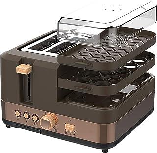 2 grille-pain en tranches, grille-pain extra-larges compacts, 7 coulisses de brunissement, grille-pain avec dégivrage / ar...