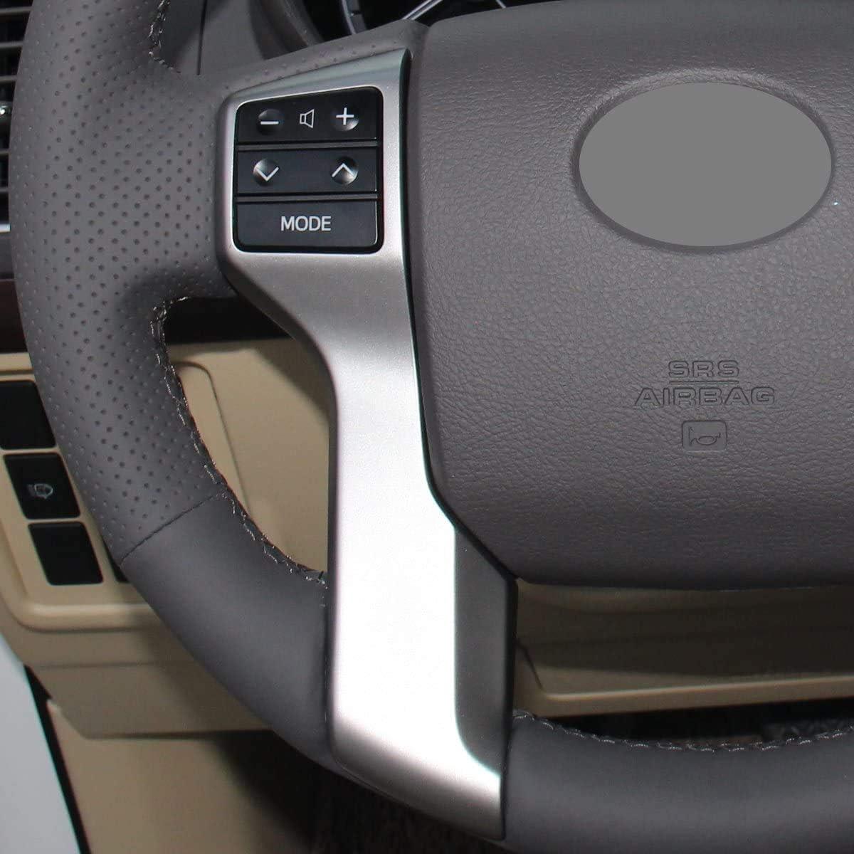 Automotive Motors Loncky Black Custom Car Steering Wheel Cover for ...