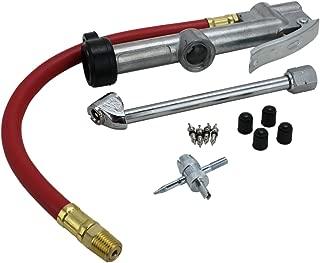 EXELAIR 10 Piece Professional Inflator Gauge Kit