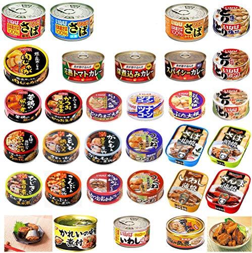 いなば ホテイ 極洋 焼き鳥 カレー缶詰 さば いわし ツナコーン 惣菜 缶詰 30缶セット