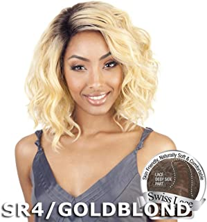 ISIS BROWN SUGAR Human Blended Lace Front Wig - BS206 (#1B - Off Black)