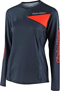 Troy Lee Designs Skyline L/S Solid Women's Off-Road BMX Cycling Jersey