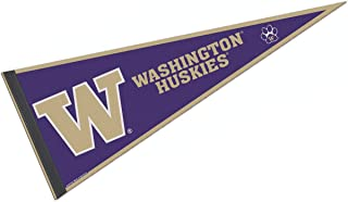 College Flags and Banners Co. University of Washington Pennant Full Size Felt