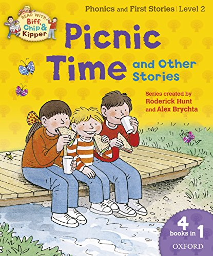 Oxford Reading Tree Read with Biff, Chip and Kipper: Level 2: Picnic Time and Other Stories (English Edition)