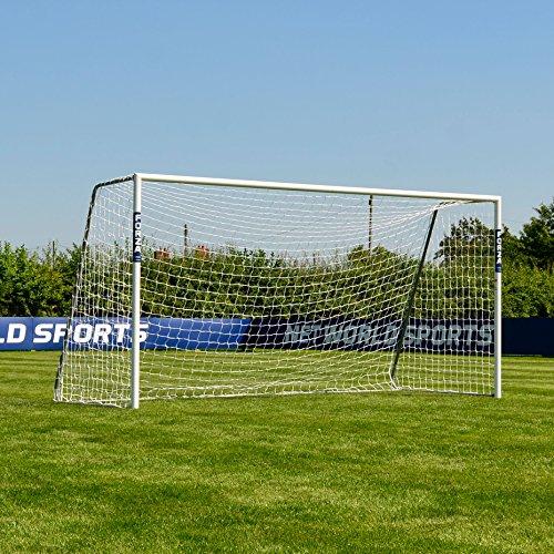 FORZA Alu60 Fußballtore – hochwertiges und freistehendes Aluminium Tor – in 10 Größen erhältlich (3,7m x 1,8m)