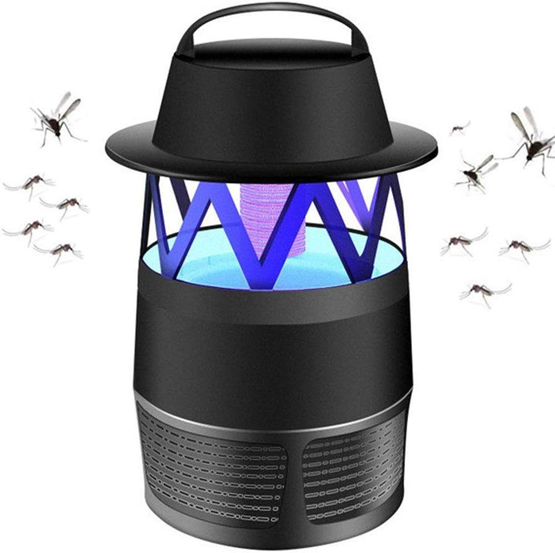Mosquito Killer Household Mosquito Light Catalyst Silent No Radiation Insert Mosquito Repellent (color  Black, White),Black