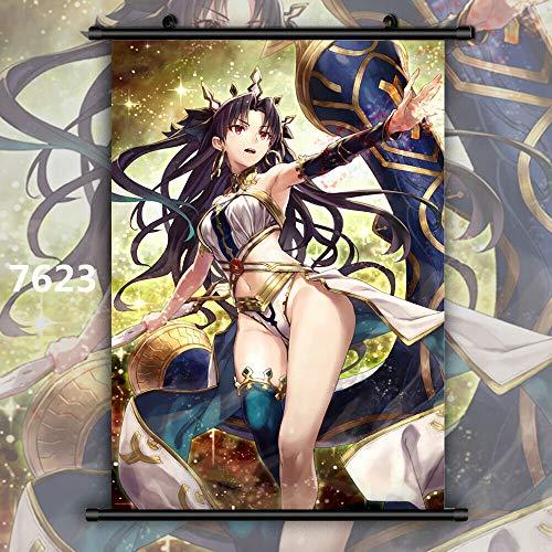 Por Anime Fate Grand Order Archer Ishtar Rin Manga Póster De Pared...