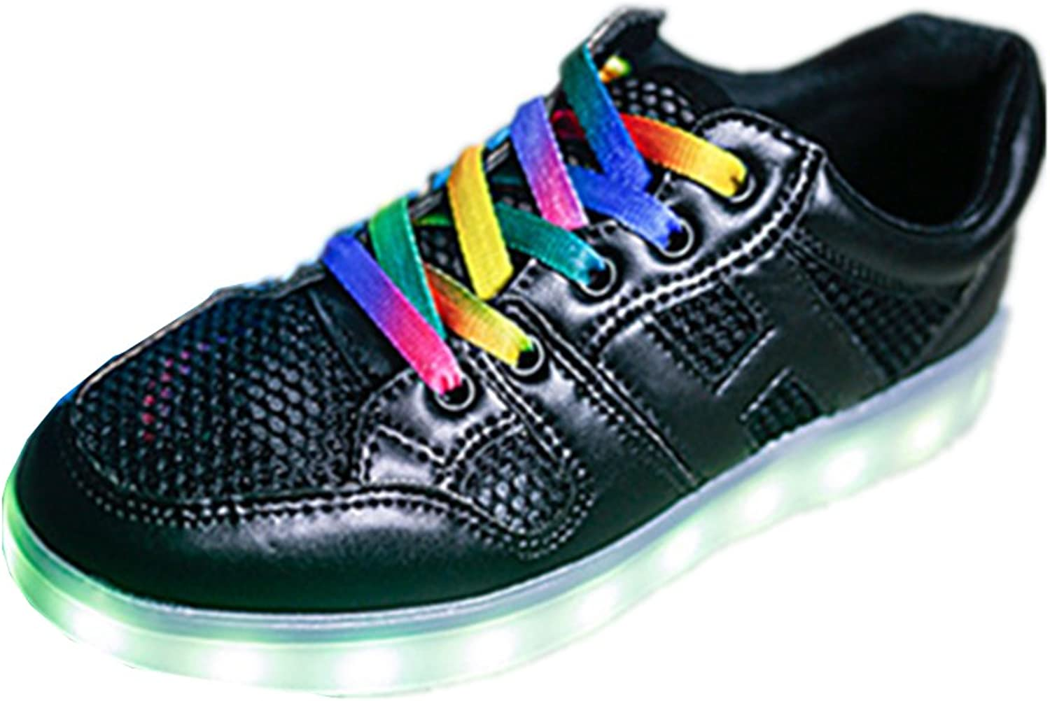 A2kmsmss5a Women & Girl LED shoes 7 colors Light Up colorful Sneakers USB Charging
