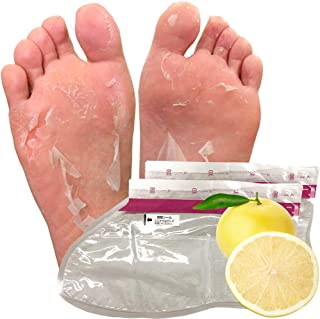 【3回分】グレープフルーツフットピーリングパック ペロリン 足の角質取りパック 足 かくしつ 除去バック 足の裏