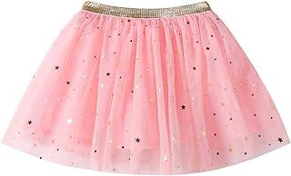 K-youth® Falda Tul Niña Chicas Estrellas Lentejuelas Vestido de Princesa Bebé Niños Fiesta Baile Ballet Tutu Falda de Niña...