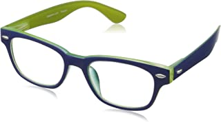 Peepers by PeeperSpecs unisex-adult Bellissima Rectangular Reading Glasses