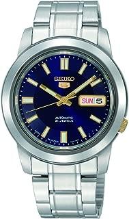 Men's SNKK11 5 Stainless Steel Blue Dial Watch