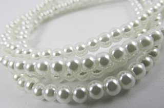white freshwater pearl beads