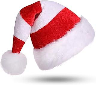 Taglia M-L Costume da Babbo Natale Foxxeo Costume da Babbo Natale per Uomini