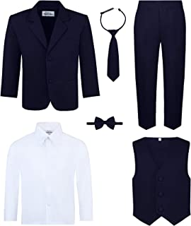 Boy's 6-Piece Suit Set