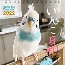 【Amazon.co.jp 限定】カレンダー2022 週めくりカレンダー いんこ日和 (卓上/壁掛け・リング)【特典データ:スマホ壁紙画像】 (ヤマケイカレンダー2022)