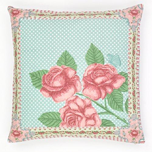 abodent.com Motif Lumineux Kitsch Floral Fleur Rose Coussin Imprimer Housses de Coussin pour Les Canapés, Chaises et Lits