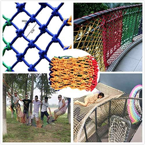 Balcón segura Net Net Protección al aire libre red protectora, Partido neto decorativo, que suben de los niños Net, cerca red, red de protección, Balcón Escalera anti-caída neta, Hamaca Columpio de cu