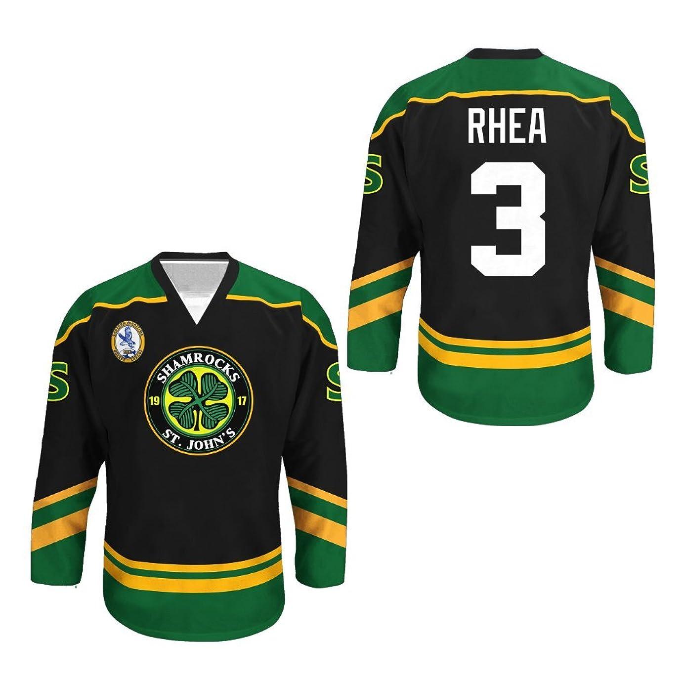 Ross The BOSS Rhea ST John's Shamrocks Hockey Jersey with EMHL Patch Stitch