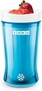 Zoku ZK126-BB Slush and Shake Maker, Bright Blue