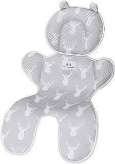 ranninao Sitzauflage Kinderwagen Universal Bequem Atmungsaktiv Baby Sitzauflage Buggy Sommer Weich