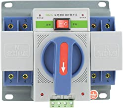 Hilitand 220V 63A Transfer Switch Mini Dual Electronic Power Automatic Circuit Breaker (2P)