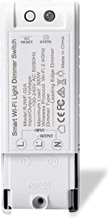 NOTSEK WiFi Smart Dimmer Switch Compatible with Alexa Google Home Voice Control Wireless Relay Dimmer Switch Module DIY Your Smart Home with Countdown Timer Function for iOS Android