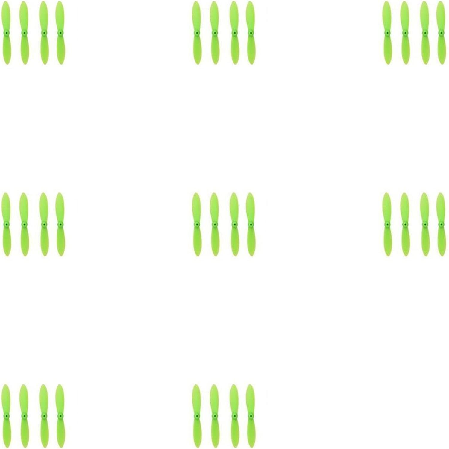 8 x Quantity of WLtoys V282 All Green Nano Quadcopter Propeller blade Set 32mm Propellers Blades Props Quad Drone parts  FAST FREE SHIPPING FROM Orlando, Florida USA