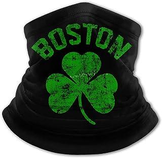 Boston Green - Pasamontañas para el cuello con protección UV, resistente al viento, multifunción, para niños y niñas
