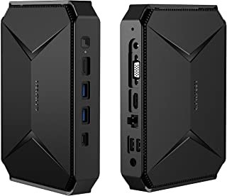 CHUWI Herobox Pro Mini pc Intel Jasper Lake N4500 Doble Core Desde 1.1GHz hasta 2.8GHz Windows10 OS, 8GB RAM 256GB SSD, ex...