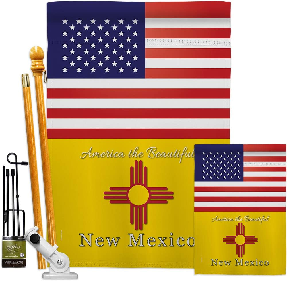 States US New Mexico Max 42% OFF Garden Branded goods House Regional USA America Kit Flags