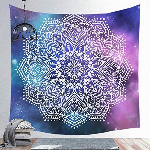 Gu3Je Moda Mandala Gran tapicería de la Pared Atado Boho decoración Poliéster japonés Hippie Sun Moon Granja Alfombra Dormitorio Decoración Chakra para la decoración de la habitación
