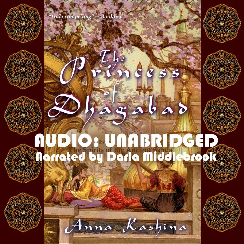 The Princess of Dhagabad audiobook cover art