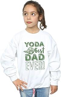 Star Wars Girls Yoda Best Dad Sweatshirt