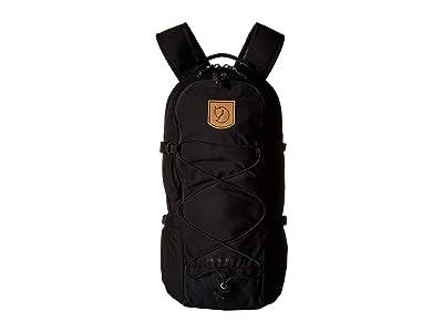 Fjallraven Abisko Hike 15 (Black) Backpack Bags
