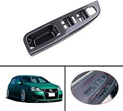 Carbon Fiber Plastic Master Window Switch Bezel Replacement Switch Bezel Cover For Volkswagen VW Jetta MK5 2005-2010