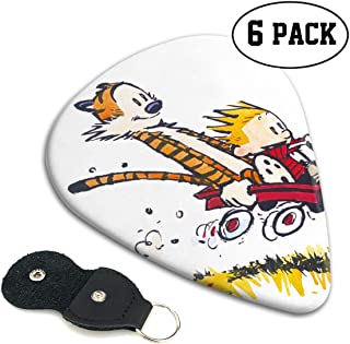 Calvin-and-Hobbes Guitar Pick Fits Acoustic Electric And Bass Guitars Ukulele