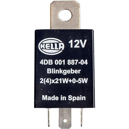 Hella 4db 001 887 041 Blinkgeber 12v 4 Polig Anbau Elektronisch Mit Halter Auto