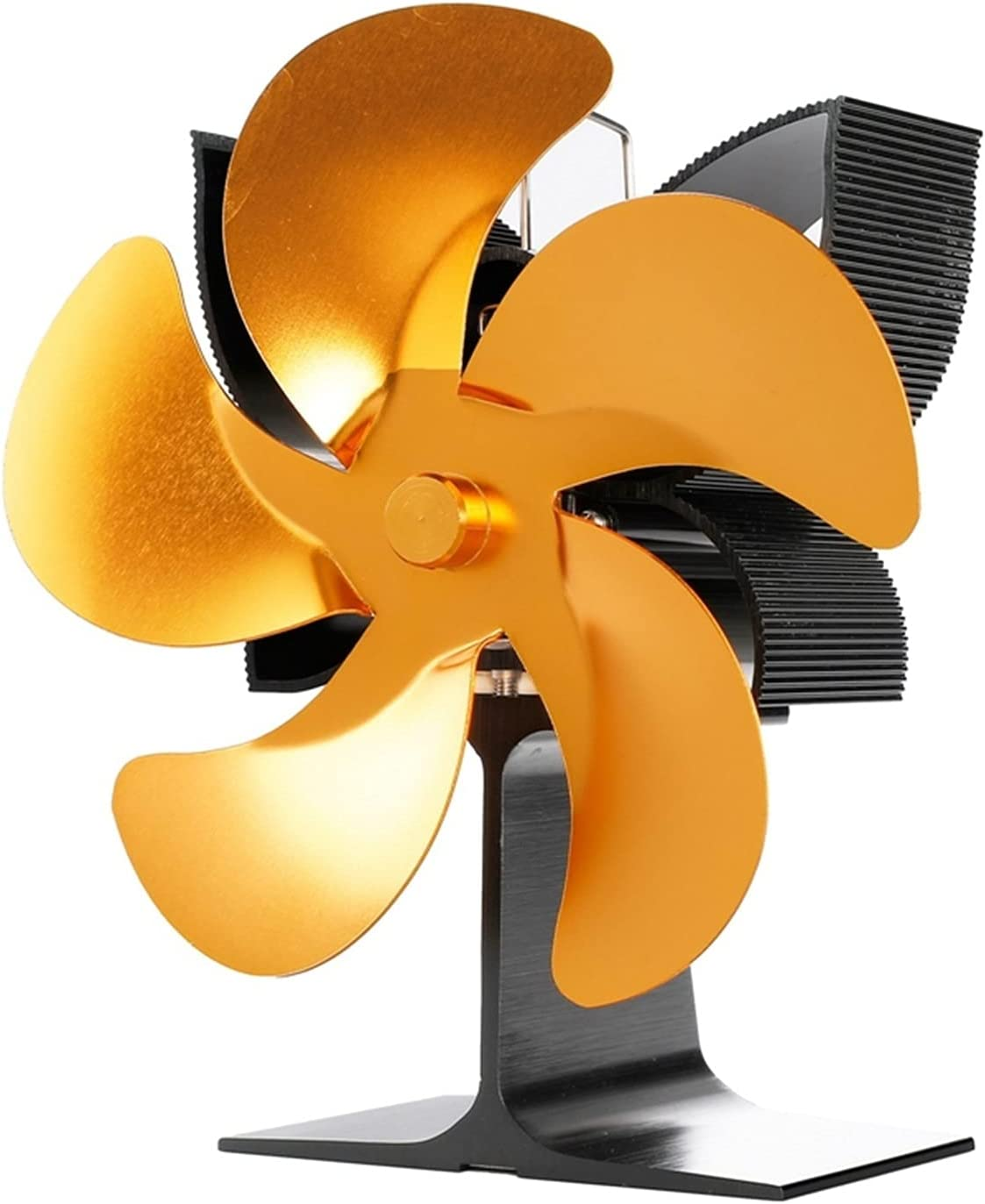 zeyumaoyi 5-Blade Thermal 35% OFF Special Campaign Fireplace Fan Heater