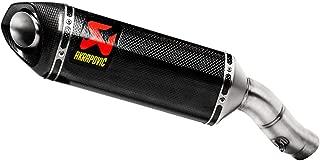 Akrapovic 13-19 Kawasaki ZX636 Slip-On Exhaust (Carbon Fiber/Enlarged Outlet)