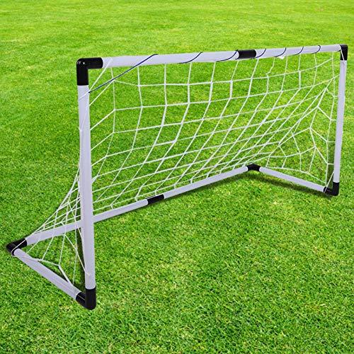 DAUERHAFT Portería de fútbol Ligera, no tóxica, portería de fútbol, portería Suave para Interiores para niños