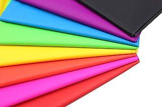 "Ripstop Nylon Fabric 40D 8 Pcs 59""Wide x36"" Length Lightweight Fabrics for DIY"