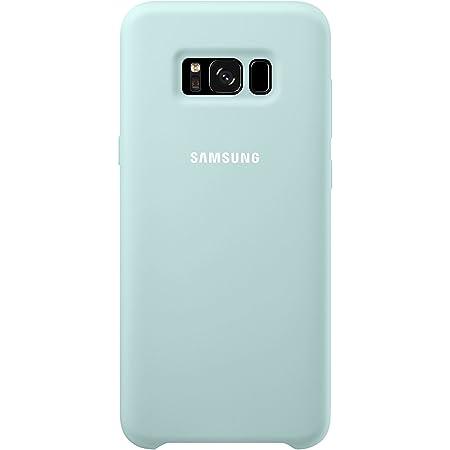 Samsung Original Coque en Silicone pour Samsung Galaxy S8 Plus, Bleu