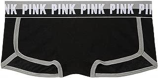 Victoria 's Secret PINK Logo Boy short Panty Large Black